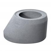 Cap tronconic D 80 di 62.5 g 12 H 38 cm