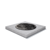 Rama rectangulara beton armat 100x100x15 cm
