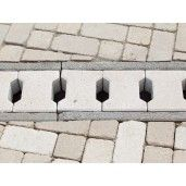 Placa Rigola Carosabila Simplu Armata 49x30x15 cm, Ciment