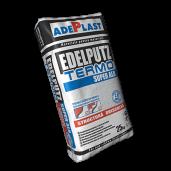 Mortar Adeplast Edelpuz Termopentrufinisareatencuielilorminerale, Super Alb, 25 kg