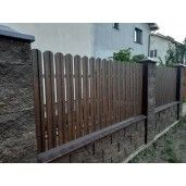 Set 25 buc/3 ml Sipca Metalica Gard Imitatie Lemn Mahon 0.40 mm