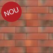 Placaj klinker Terca Armis Garnet Red 21.5x6.5x0.9 cm