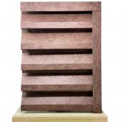 Panou interval gard jaluzele Atlas 250x155x0.04 cm Imitatie Piatra Granit Imperial