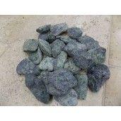 Marmura Rotunjita Verde 4-8 cm, Sac 20 kg