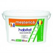 Vopsea lavabila Mesterica Habitat, 15 L