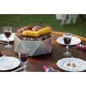 Mini-Grill Top Table Otel Inoxidabil