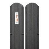 Sipca metalica gard Model Premium 3D Maro Inchis Mat, 0.45 mm