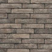 Coltar mic klinker Terca Pagus Grijs-Zwart, 18.5x6.5x2.3 cm
