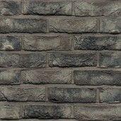 Caramida aparenta Terca Pagus Iluzo Grijs-Zwart, 23.8x9x4.8 cm