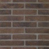 Placaj klinker Terca Pagus Bruin-Zwart, 21.6x6.5x2.3 cm
