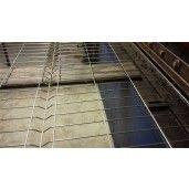 Panou gard zincat STD 150x250 cm