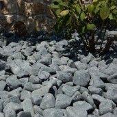Piatra Rotunjita Neagra 6-10 cm, Sac 20 kg