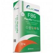 Adeziv si masa de spaclu pentru polistiren si vata minerala, F86 Placofix Premium, 25 kg