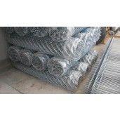 Plasa gard impletita 2.5x50 mm x 1.5x10 m