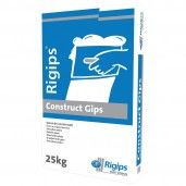 Ipsos pentru constructii Rigips Construct Gips, interior, 25 kg