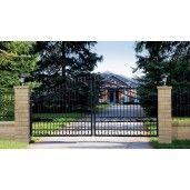 Element Zid Gard Jumatate Bellamonte 20x20x15 cm, Ocru Auriu