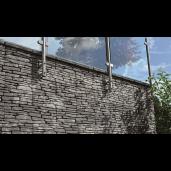 Bradstone Milldale Placa Decorativa 60x15x4 cm, Gri Nuantat
