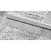 Cant Aluminiu 120x2.6x5.6 cm, Argintiu