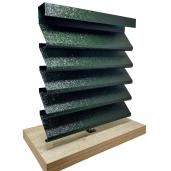 Panou interval gard jaluzele Sigma 250x150x0.05 cm V-Mat Structurat