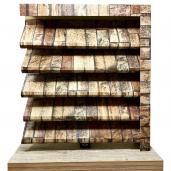 Panou interval gard jaluzele Sigma 250x150x0.04 cm Imitatie Piatra