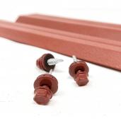 Set 25 buc/3 ml Sipca Metalica Gard Mat BGM Rosu 0.45 mm