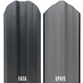 Set 25 buc/3 ml Sipca Metalica Gard Mat BGM Gri Grafit 0.45 mm