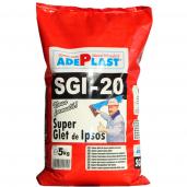 Glet de finisaj Adeplast Super Glet, pe baza de ipsos, interior, Alb, 5 kg