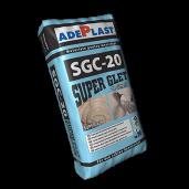 SuperGletAdeplast SGC-20 pebazadecimentpentrufinisajlainteriorsiexterior, Alb, 20 kg