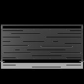 Balustrada metalica panou decorativ model 31, 200x90 cm