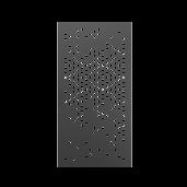 Poarta pietonala model 29, 100x180 cm