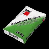 Tencuiala alba fina, FeinPutz Aussen, exterior, 40 kg