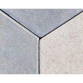 Trenova Romb 25x15x6 cm, Trei Nuante De Gri