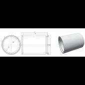 Tub cu cep si buza din beton armat D 220 di 180 L 264.5 cm