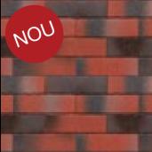 Coltar klinker Terca Pelaris Vivid Red 21.5x6.5x1.4 cm