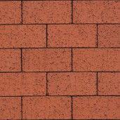 Coltar mic klinker Terca Colorline Wanlin Rood, 25.5x8.8x2.3 cm